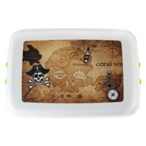 Kutija za užinu od bioplastike – Pirati