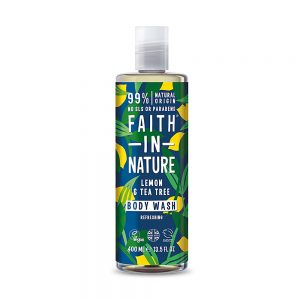 Faith in Nature šampon protiv peruti čajevac limun 400ml