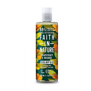Faith in Nature šampon za masnu kosu grejp i naranča 400ml