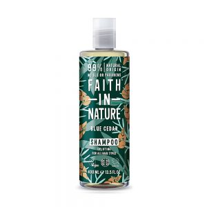 Faith in Nature muški šampon sibirski cedar 400ml