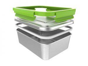 Posuda za hranu od nehrđajućeg čelika ECOTANKA LUNCHBOX