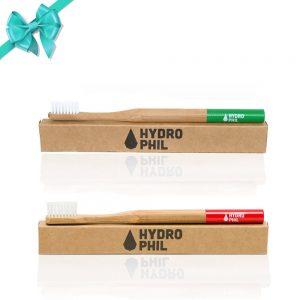 SET Četkica za zube od bambusa za odrasle – 2 četkice