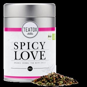 Čaj Spicy Love – Organski biljni čaj sa čilijem 70g