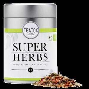 TEATOX SUPER HERBS čajna mješavina s moringom i spirulinom