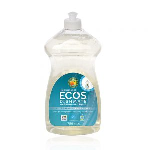 ECOS prirodni koncentrirani deterdžent za pranje posuđa – bez mirisa – 750ml