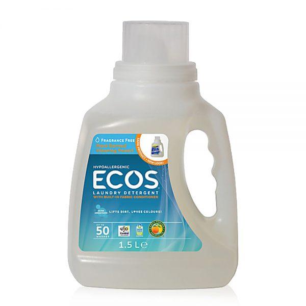 ECOS prirodni deterdžent s omekšivačem za rublje (2u1) - bez mirisa - 50 pranja - 1,5L