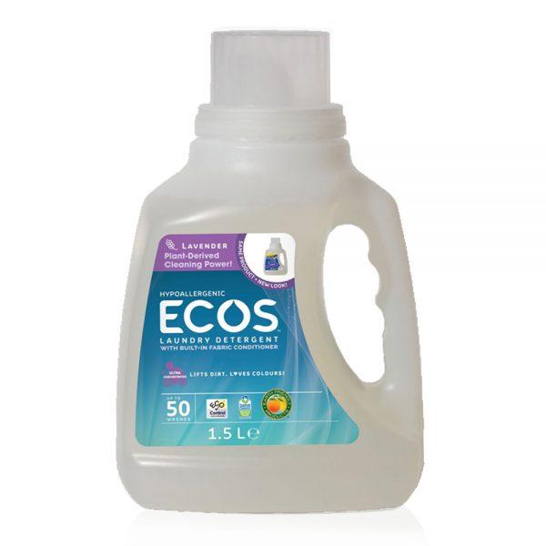 ECOS prirodni deterdžent s omekšivačem za rublje (2u1) - miris lavanda - 50 pranja - 1,5L