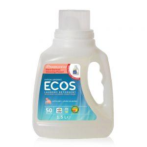 ECOS prirodni deterdžent s omekšivačem za rublje (2u1) – miris ljiljan – 50 pranja – 1,5L