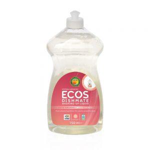 ECOS prirodni koncentrirani deterdžent za pranje posuđa – miris grejp – 750ml