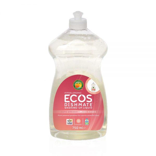 ECOS prirodni koncentrirani deterdžent za pranje posuđa – miris grejp - 750ml