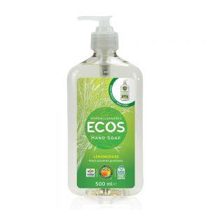 ECOS prirodni tekući sapun za ruke – miris limunska trava – 500ml