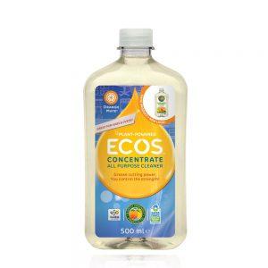 ECOS prirodno sredstvo za čišćenje različitih površina – koncetrat – miris naranča – 500ml