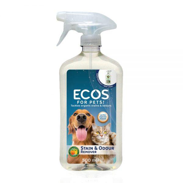 ECOS prirodno sredstvo za uklanjanje tvrdokornih mrlja i neugodnih mirisa - FOR PETS - 500ml