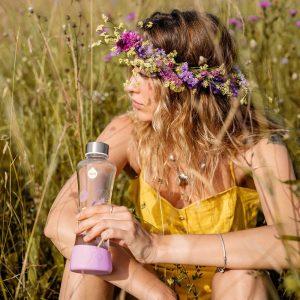 Myequa staklena boca FLOWERHEAD LILY – 550ml