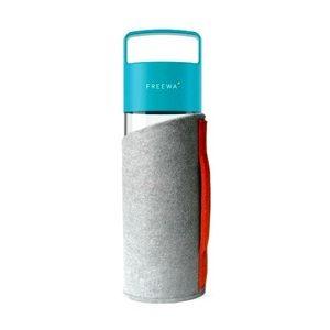 Freewa staklena boca HVALA s torbicom od eko filca – 630ml