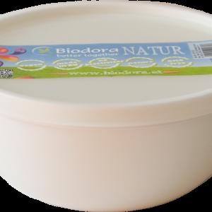 Posuda za hranu s poklopcem od bioplastike -1L – bijela, zelena i tirkizna