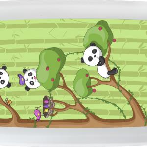 Kutija za užinu od bioplastike – Panda