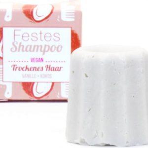Lamazuna Čvrsti šampon – vanilija-kokos – 55g