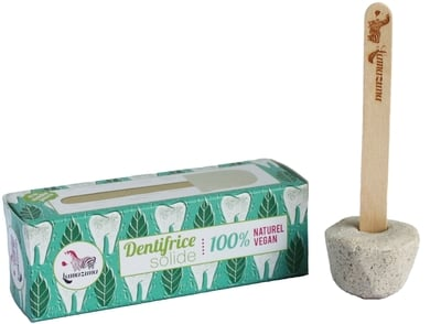 Lamazuna Kruta pasta za zube s uljem metvice – 20g
