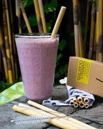 Bali Boo slamke od bambusa – veliki set