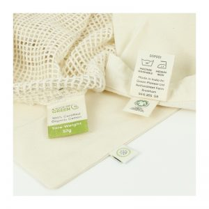 Vrećica od organskog pamuka – velika