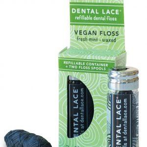 Zubna svila u staklenoj bočici – veganska