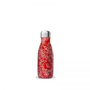Qwetch termos boca 260ml – Flowers Red