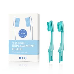 TIOMATIK četkice za električne četkice za zube – 2kom