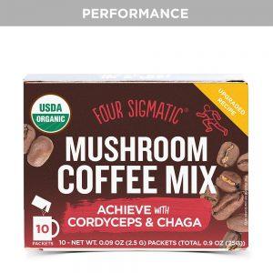Kava s gljivom Cordyceps