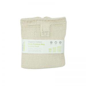 Set od tri mrežaste vrećice od organskog pamuka