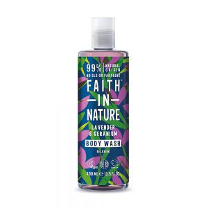 Faith in Nature pjenasta kupka lavanda 400ml