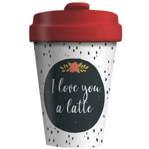 BambooCup – LOVE YOU LATTE