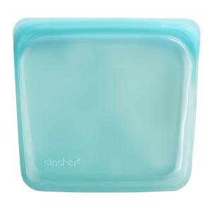 Silikonska vrećica za sendvič – aqua