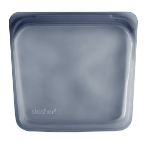 Silikonska vrećica za sendvič – siva
