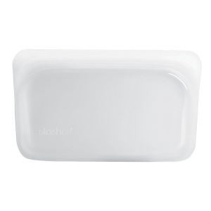 Silikonska vrećica za snack – prozirna