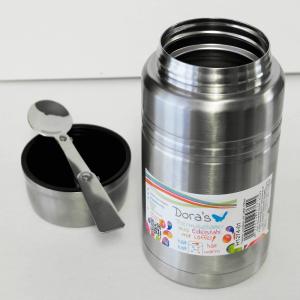 Dora's termo posuda za hranu sa žlicom – metalna
