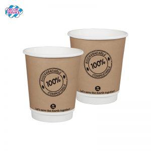 BIO papirnata čaša – 200ml, promjera 8 cm, pakiranje 50 kom
