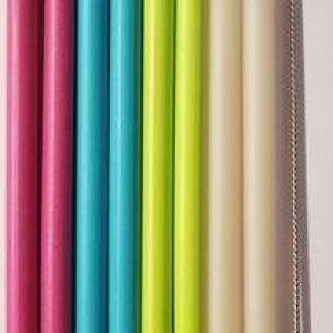 Biodora slamke od bioplastike – 8 komada u pakiranju + četkica za čišćenje slamki