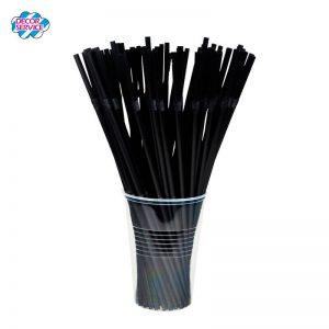 Flexi Slamke od BIO plastike , Crne i Zelene 5mmx240mm, 500kom