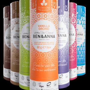 Ben & Anna prirodni dezodorans u papirnom pakiranju, 60g