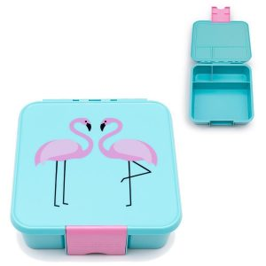Little Lunch box Bento  3 – Flamingo – kutija za užinu za djecu