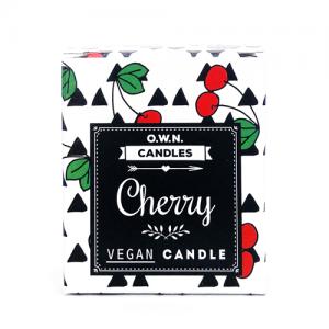 Prirodna mirisna svijeća u ukrasnoj kutijici – miris Trešnja