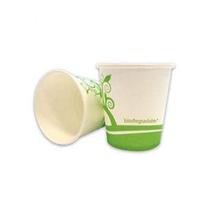 Šalica papirnata biorazgradiva, 180 ml, 70 kom