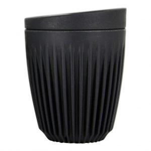 HUSKEE CUP Šalica s poklopcem 235ml, bež, crna