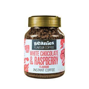 Beanies instant kava S KOFEINOM , Bijela čokoladai Malina