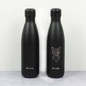 Qwetch termos boca All Black 500 ml