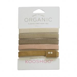 KOOSHOO  Gumice za kosu – Plastic Free , Blond 5kom
