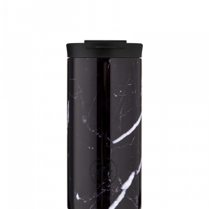 Termo Šalica Travel Tumbler 24Bottles Black Marble 600ml