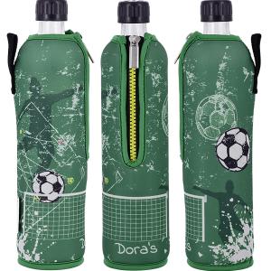 Dora's staklena boca u neoprenskoj košuljici 500ml – NOGOMET