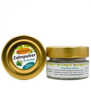 BIRKENGOLD Prašak za pranje zubi s ljekovitim biljem i ksilitolom 30g